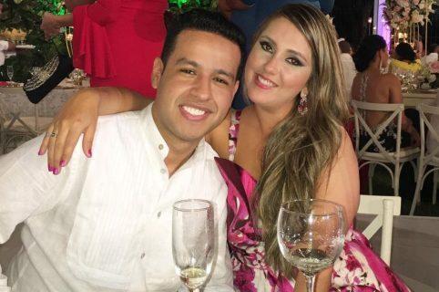 Martin Elías y Dayana Jaimes