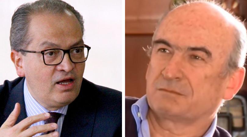 Procurador Fernando Carrillo y  Jorge Enrique Pizano (Q.E.P.D).