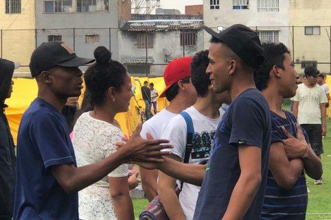 Venezolanos en Bogotá