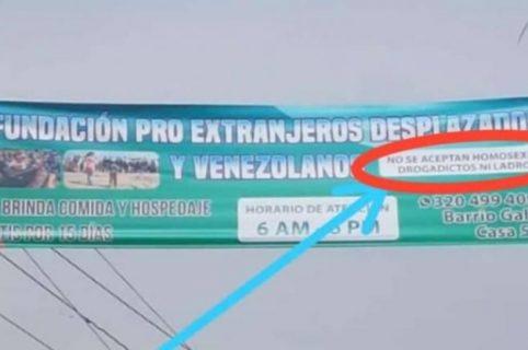 Valla discriminatoria Bucaramanga