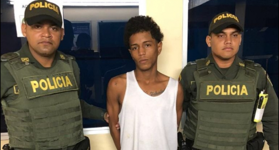 Elías Obregón capturado por Policía