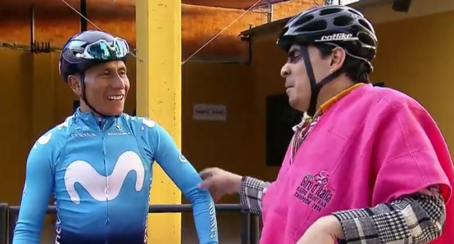 Nairo Quintana y Suso