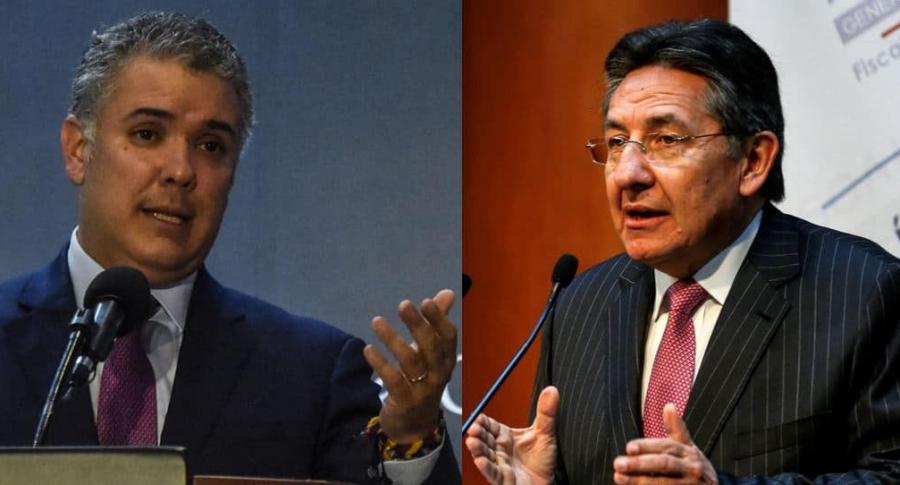 Iván Duque y Néstor Humberto Martínez