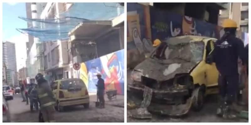 Accidente cerca al BD Bacatá