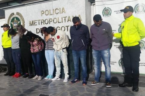 Banda criminal 'los Perseo'