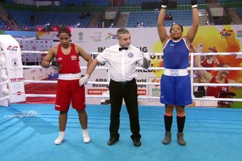 Jéssica Paola Caicedo se impuso en la división de los 81 kilogramos