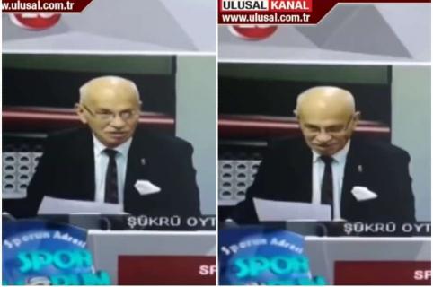 Presentador turco.