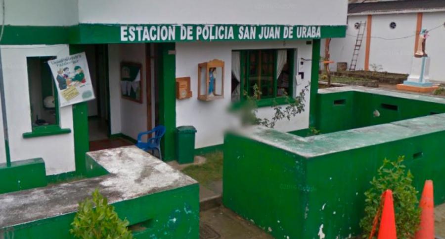 Estación de Policía de San Juan de Uraba