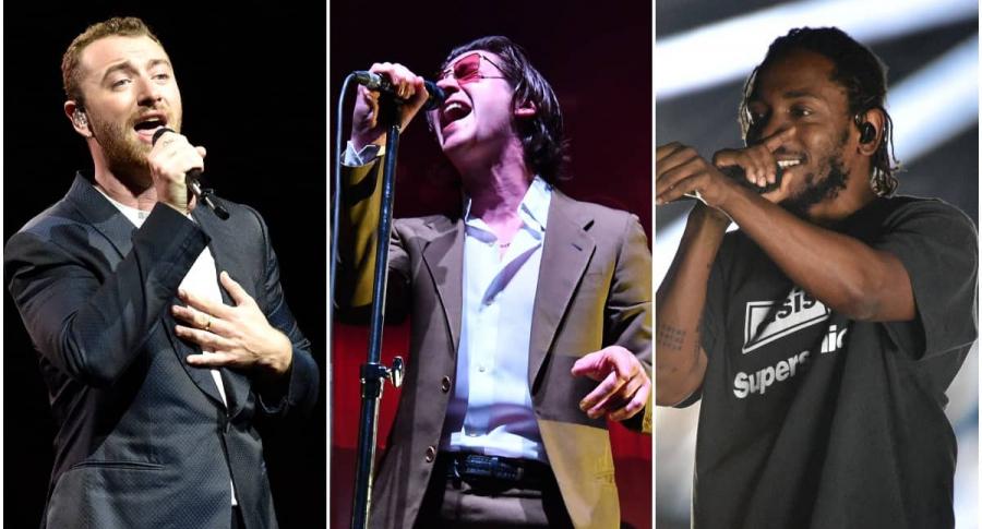 Sam Smith / Artic Monkeys / Kendrick Lamar