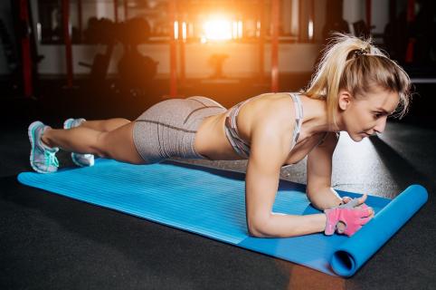 Planchas ejercicio