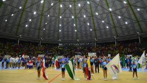 Inauguración de Campeonato mundial de fútbol masculino de salón