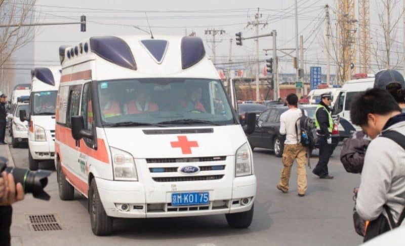 Ambulancia China