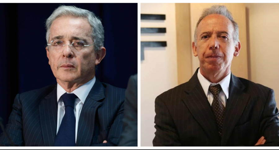 Alvaro Uribe vs Sergio Clavijo