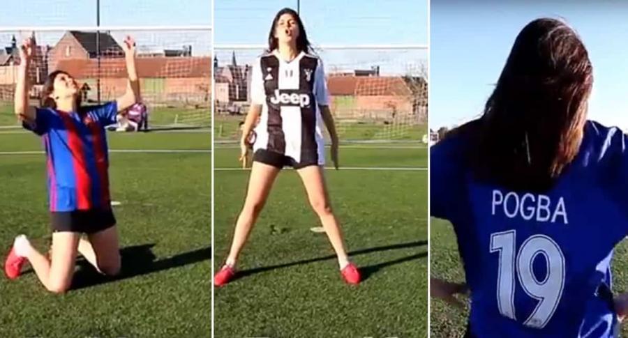 Jugadora de fútbol