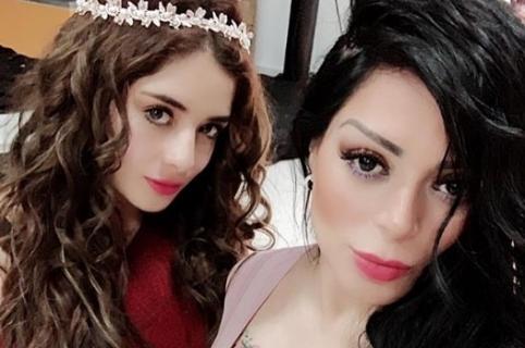 Rafaella y su mamá, la cantante Marbelle