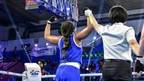 Jéssica Paola Caicedo ganó las semifinales del Mundial de boxeo