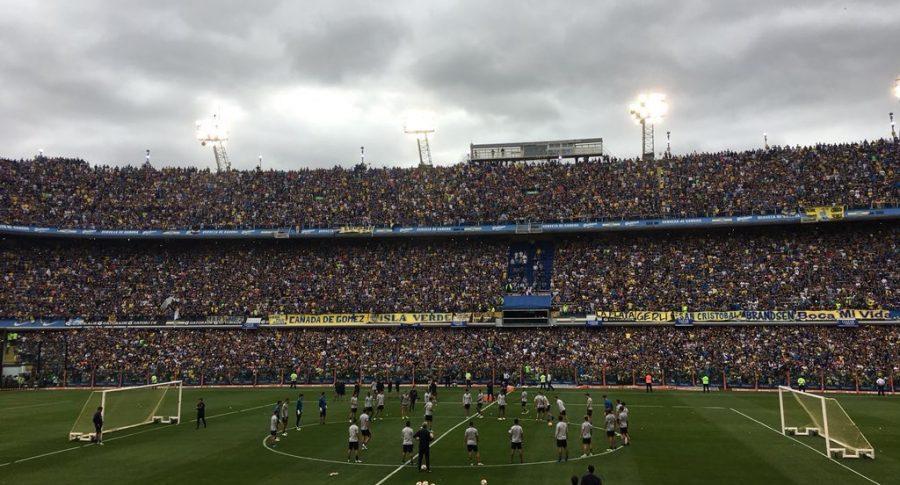 La Bombonera, a reventar en la práctica de Boca Juniors