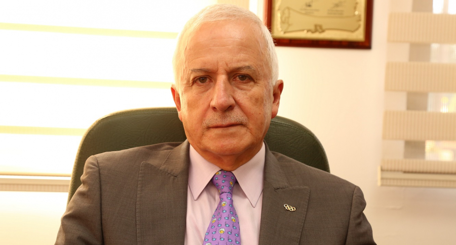 Baltazar Medina, presidente del Comité Olímpico Colombiano