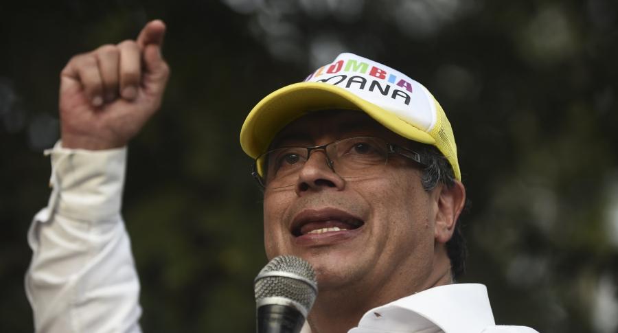 Gustavo Petro, en campaña