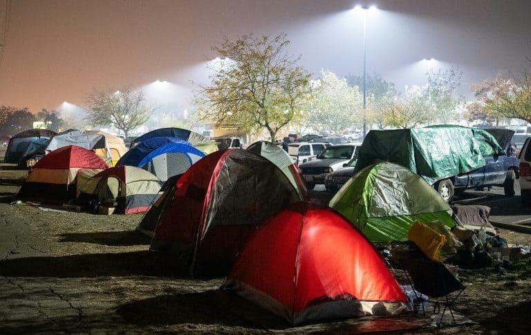 Campamento Walmart