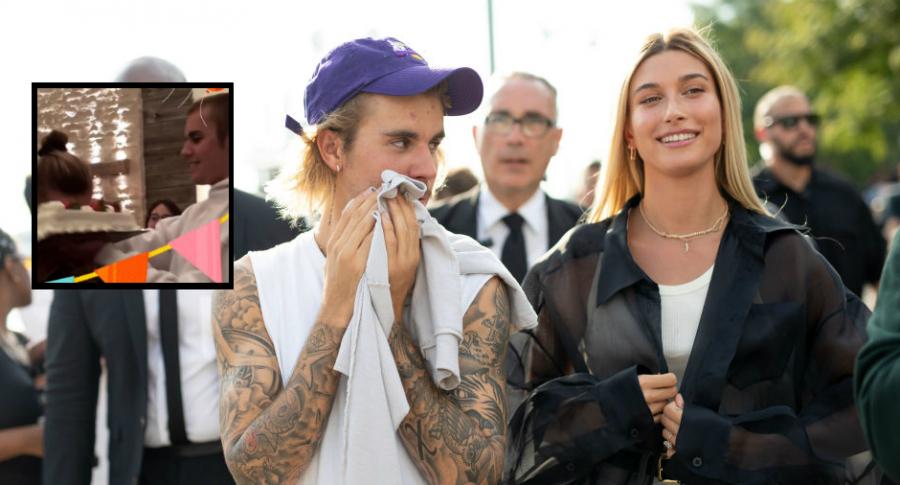 Justin Bieber y Hailey Rhode Bieber