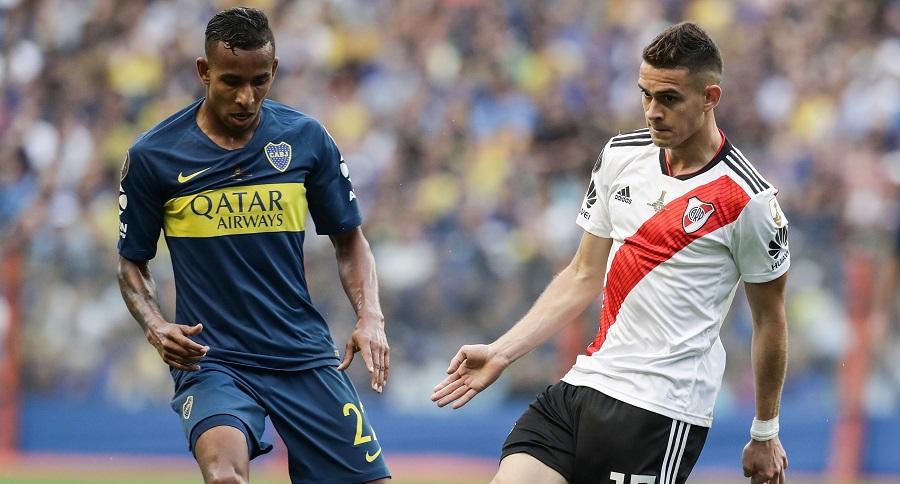 Sebastian Villa y Rafael Santos Borré