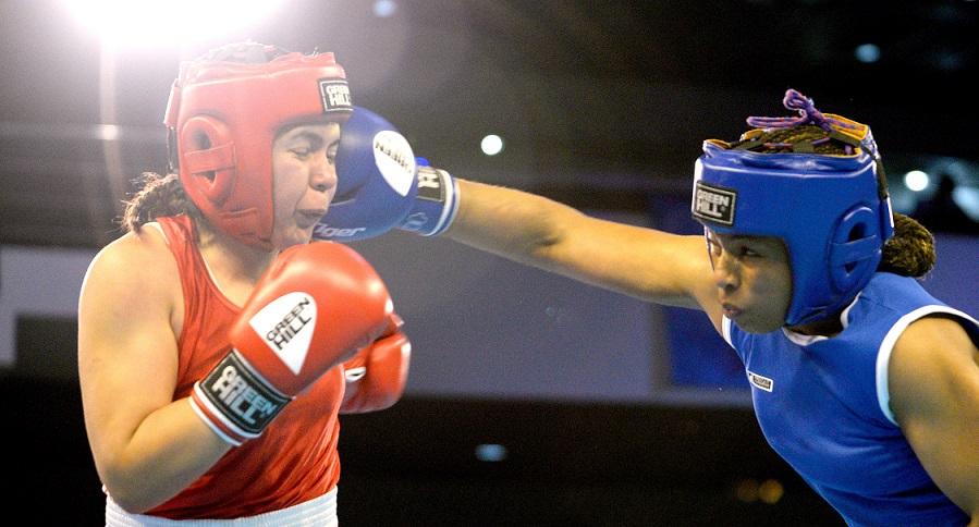 Jéssica Caicedo golpea a la mexicana Brianda Cruz en Barranquilla 2018