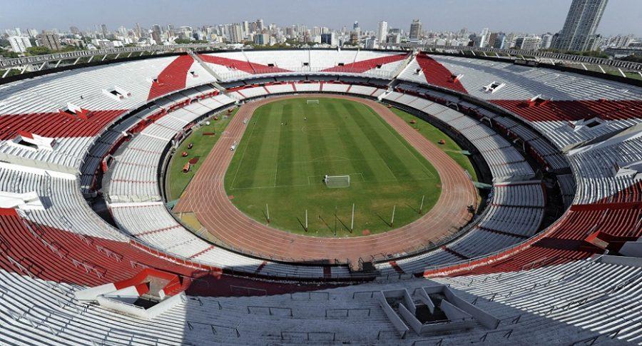 Estadio Monumental, horas antes de la final de la Copa Libertadores