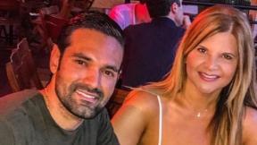 Diva Jesserum y su novio Rafael Caparroso