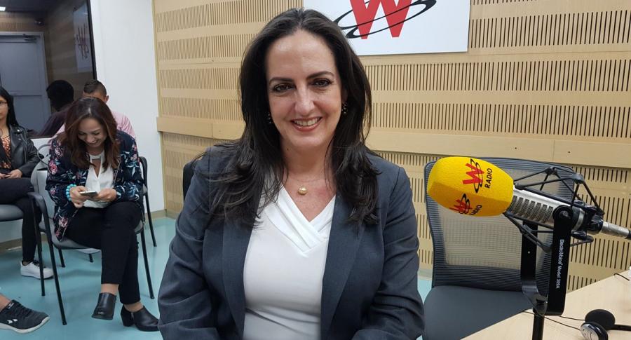 María Fernanda Cabal, senadora del Centro Democrático