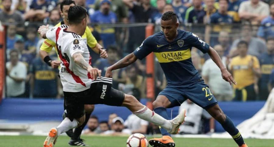River Plate y Boca Juniors, final de ida de la Copa Libertadores