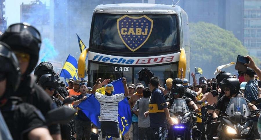 Bus de Boca Juniors