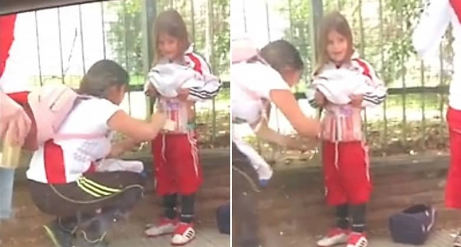 Niño de River Plate