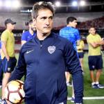 Guillermo Barros Schelotto, técnico de Boca Juniors