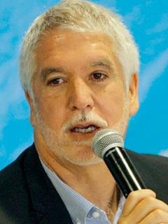 Enrique Peñalosa, alcalde de Bogotá.