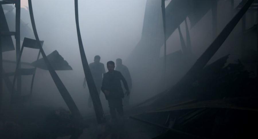 Ataque con gas en Siria