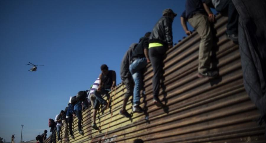 Valla fronteriza México EEUU