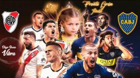 Montaje de 'Elif' con futbolistas.