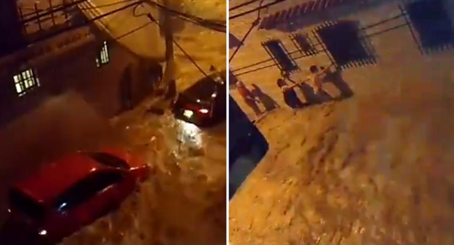 Inundación en Medellín
