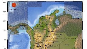 Mapa de sismo