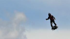 Franky Zapata patineta voladora