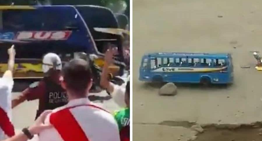 Ataque al bus de Boca Juniors