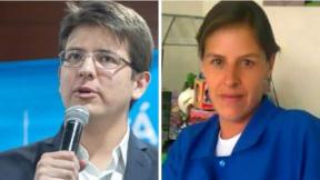 Miguel Uribe Turbay y Rosa Elvira Cely