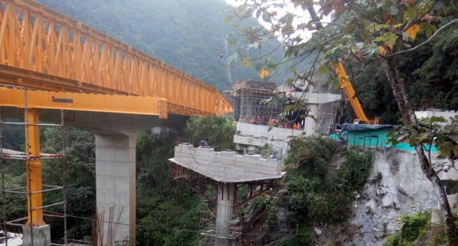 Caída de puente La Pala