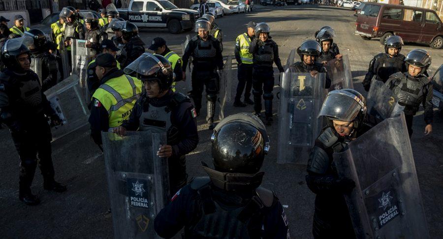 Policías federales allanaron un albergue de inmigrantes