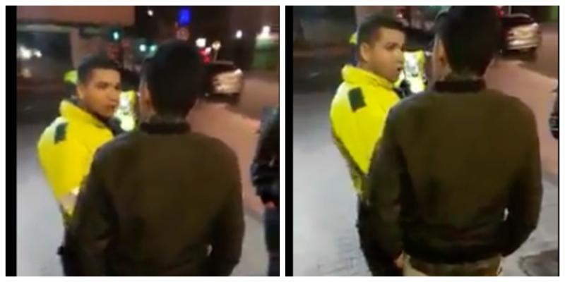 Agresión Policía