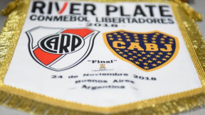 Badeín de River Plate y Boca Juniors (Copa Libertadores)