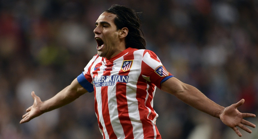 Falcao García en el Atlético de Madrid