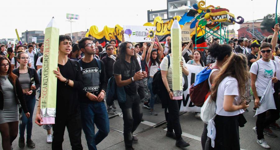 Marchas estudiantes