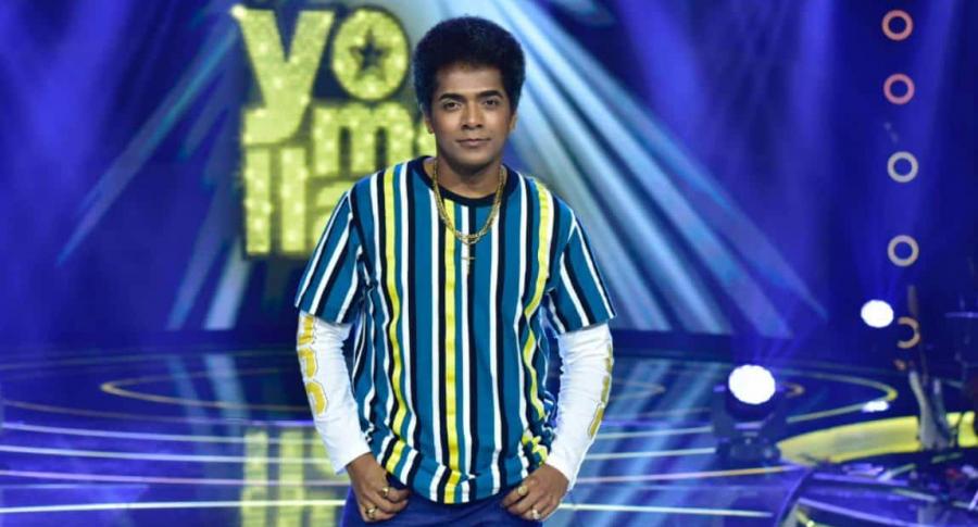 Imitador de Bruno Mars en 'Yo me llamo'.